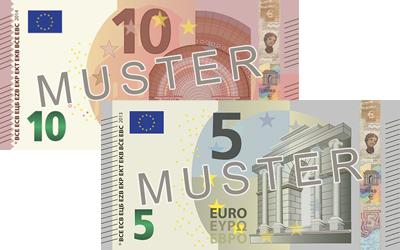 15€ Verrechnungsscheck