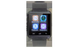 Gespräche annehmen, Musik wiedergeben, Lauf- und Schlafaufzeichnung, Kamerafunktion: die DiSmart3 leistet alles, was eine Smartwatch von heute können muss. Und mit der kostenlosen Android App hat sie sogar noch mehr zu bieten: Anruferinnerung und Vibration bei eingehenden Nachrichten, die Anti-lost Alarmfunktion und die praktische Selfie-Steuerung machen diese Bluetooth-Smartwatch zum unverzichtbaren Begleiter. <br> <br> Farbe: Schwarz<br> Reichweite: 10 m<br> Standby: ca. 160 h <br> Maße (B x H): 40 x 9,9 mm<br> <br> Artikel-Nr.: 5435<br> Zuzahlung: &euro;?1,00<br>