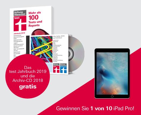 test Jahrbuch 2019 und Archiv-CD 2018