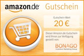 <ul> <li>365 Tage im Jahr rund um die Uhr shoppen</li> <li>riesige Auswahl aus Millionen Produkten</li> <li>Bücher, CDs, DVDs, Games, Elektronik, Bekleidung, Schmuck, Spielzeug und vieles mehr</li> </ul> <p>Die vollständigen Gutscheinbedingungen finden Sie unter <a href=&quot;www.amazon.de/einloesen.http://www.amazon.de/einloesen&quot;>www.amazon.de/einloesen</a>.</p>