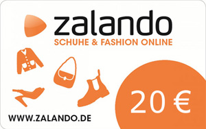 20 € Zalando ShoppingBON