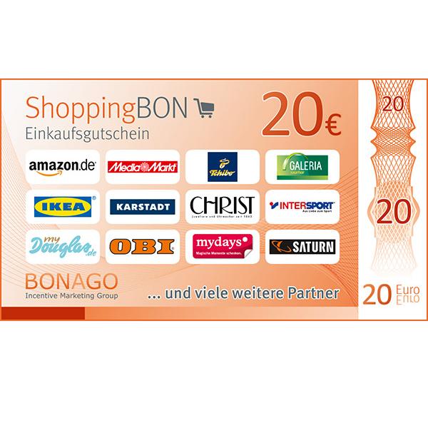 20 € ShoppingBON