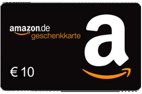 10 € Amazon.de-Gutschein