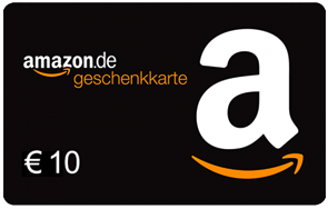 Amazon.de ist Deutschlands führendes Medien- und Kulturkaufhaus im Internet. Erfüllen Sie sich mit diesem Gutschein einen Wunsch aus dem umfangreichen Sortiment ? über eine Million Bücher, 250 000 CDs, DVDs, Spiele und vieles mehr stehen zur Auswahl. Amazon.de ist kein Sponsor dieser Werbeaktion. Amazon.de Gutscheine (?Gutscheine?) sind für den Kauf ausgewählter Produkte auf Amazon.de und bestimmten Partner-Webseiten einlösbar. Sie dürfen nicht weiterveräußert oder anderweitig gegen Entgelt an Dritte übertragen werden, eine Barauszahlung ist ausgeschlossen. Aussteller der Gutscheine ist die Amazon EU S.à r.l. in Luxemburg. Weder diese noch verbundene Unternehmen haften im Fall von Verlust, Diebstahl, Beschädigung oder Missbrauch eines Gutscheins. Gutscheine können auf www.amazon.de/einloesen eingelöst werden. Dort finden Sie auch die vollständigen Geschäftsbedingungen. Alle Amazon ® TM & © -Produkte sind Eigentum der Amazon.com, Inc. oder verbundener Unternehmen. Die Gutscheine sind bis zu dem angegebenen Ablaufdatum einlösbar. Es fallen keine Servicegebühren an.