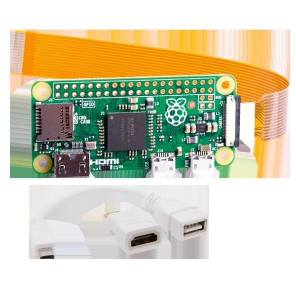 Raspberry Pi Zero W + Zubehör