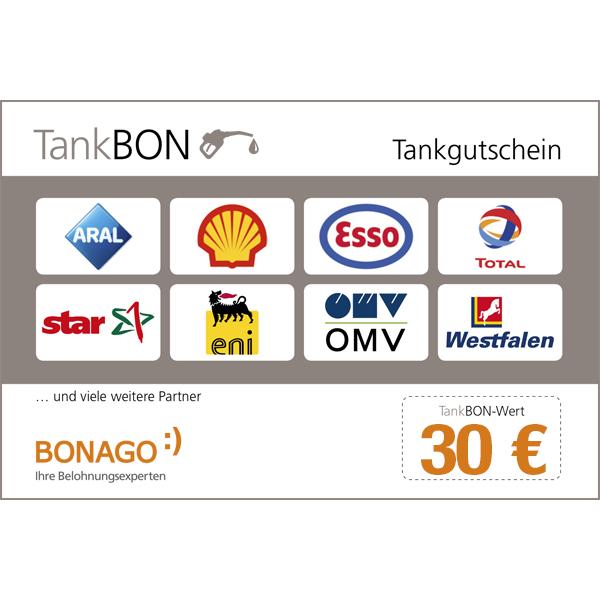 So macht Tanken Spaß: Sparen Sie 30 € bei Ihrem nächsten Tankstellenbesuch. Gutschein bundesweit für alle Kraftstoffe bei den abgebildeten Tankstellen gültig. Gutschein nur in Deutschland gültig.