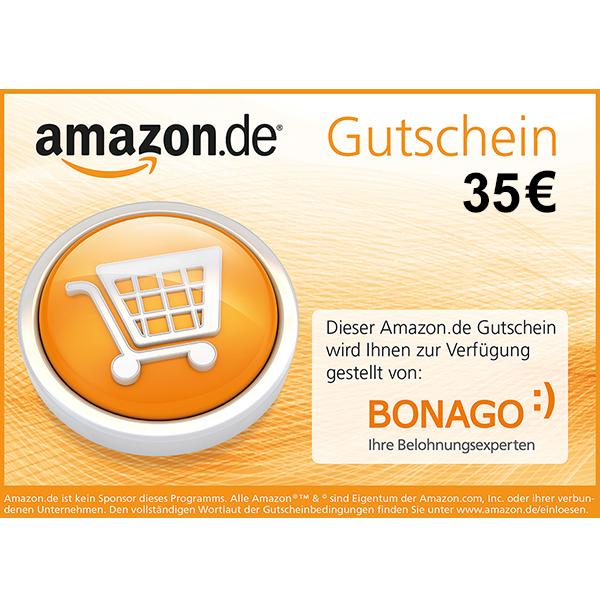 35€ Amazon.de Gutschein