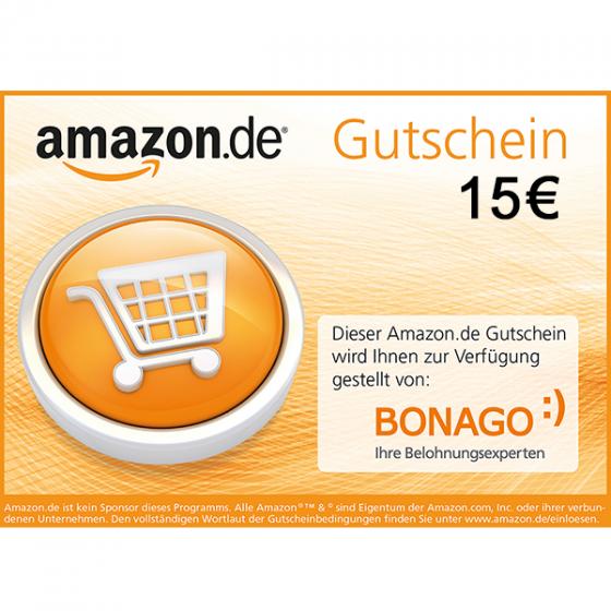 15 EUR Amazon.de Gutschein