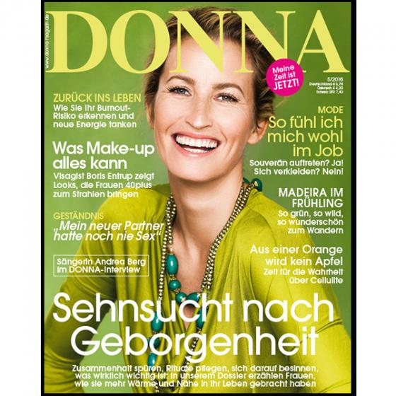 Vor Beginn des Minibos erhalten Sie zusätzlich eine Ausgabe DONNA kostenlos.<br>Artikelnummer: KG01