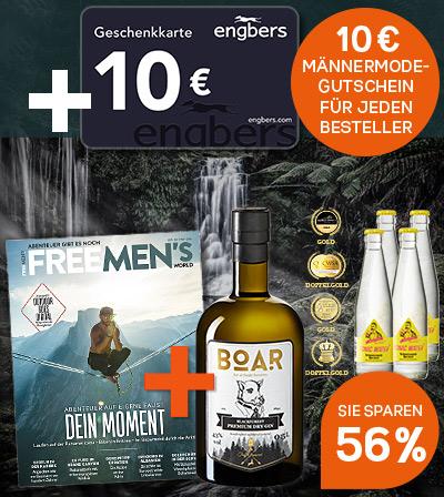BOAR Gin Paket + 10 € Engbers Gutschein