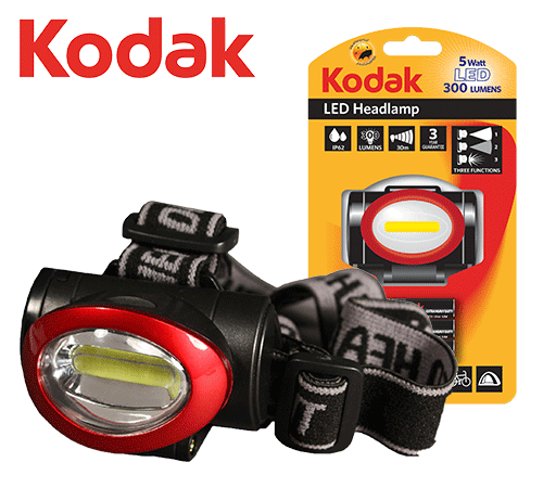 Kodak LED-Stirnlampe
