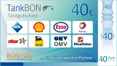 So macht tanken Spaß!<br><br>Bezahlen Sie einfach mit dem TankBON. Mit diesem Tankgutschein tanken Sie bequem und flexibel an zahlreichen Partnertankstellen in ganz Deutschland.