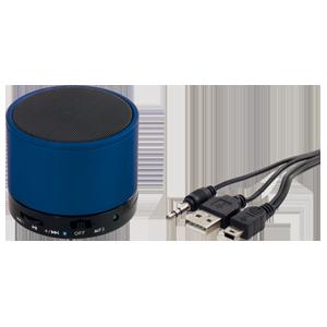 <ul><li>Bluetooth-Version 3.0 / Mit Freisprechfunktion</li> <li>Slot für MicroSD Karte</li> <li>Inkl. Aufladekabel mit USB-und Line-In-Anschluss</li> <li>integrierter aufladbarer Akku</li> <li>Laufzeit: ca. 5 h / Aufladezeit: ca. 2 h</li> <li>Maße: ca. ? 6 x 4,9 cm</li></ul>