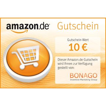 Amazon.de Gutschein 10 €