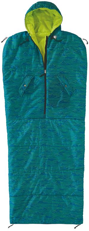Bequemer und kuscheliger Schlafsack zum Campen oder zum Übernachten bei Freunden! Alle Reißverschlüsse lassen sich von innen & außen schließen. Besonders toll sind die verschließbaren Armlöcher.<ul><li>Front-Reißverschluss mit Kinnschutz</li><li>Kuschelleichte 180 g/qm Mikrofaser-Füllung (Komfortbereich 10 °C).</li><li>Im Verstau-Rucksack mit verstellbaren, gepolsterten Trägern</li><li>Material: 100 % Polyester | Maße: B 67 x L 213 cm</li><li>Waschbar bei 30°</li></ul>