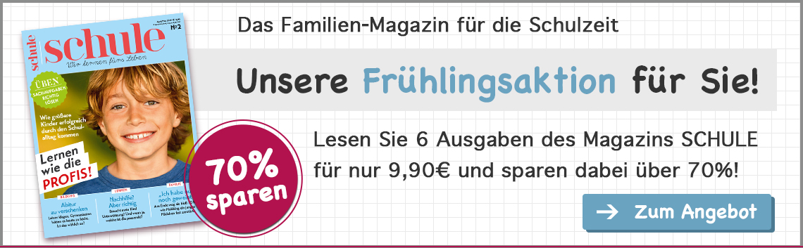 Magazin Schule Sommer Aktion